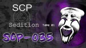 SCP Sedition - SCP-035 Tape 01