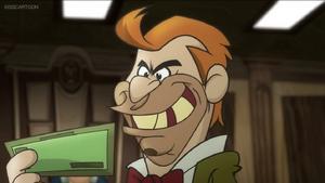 Strickland evil grin