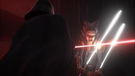 Darth Vader opposing