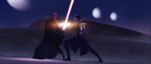 Dooku Tatooine fight