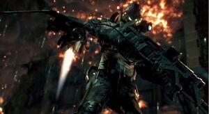 Firefly in Batman Arkham Knight Gotham is mine trailer 2