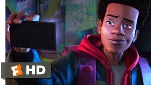 Spider-Man Into the Spider-Verse (2018) - Miles Gets Bit Scene (3 10) Movieclips
