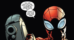 Superior Spider-Man About to Kill