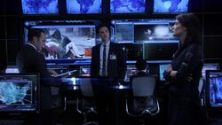 Ward Meets Coulson & Maria Hill