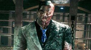 Batman Arkham Knight Two Face Boss Fight (4K 60fps)