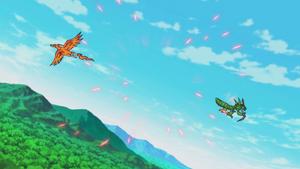 Birdramon vs Snimon