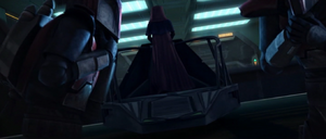 Darth Sidious commendeering