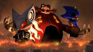 Eggman Empire Sonic Forces