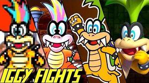 Evolution of Iggy Koopa Battles (1988-2017)