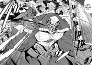 Tatsumi battles emperor