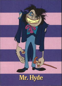 1994 The Pagemaster -85 Mr. Hyde