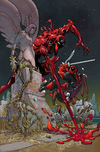 Absolute Carnage vs. Deadpool Vol 1 1 Ferry Virgin Variant