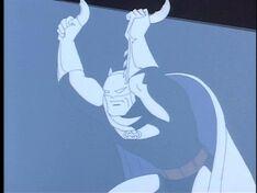 Batman fights HARDAC