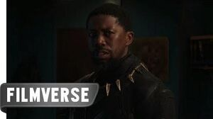 Black Panther (2018) - Why Are You Here? Scene HD FilmVerse