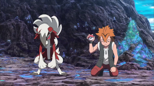 Cross Lycanroc