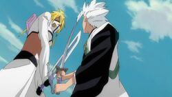 Hitsugaya & Harribel - Sword Battle