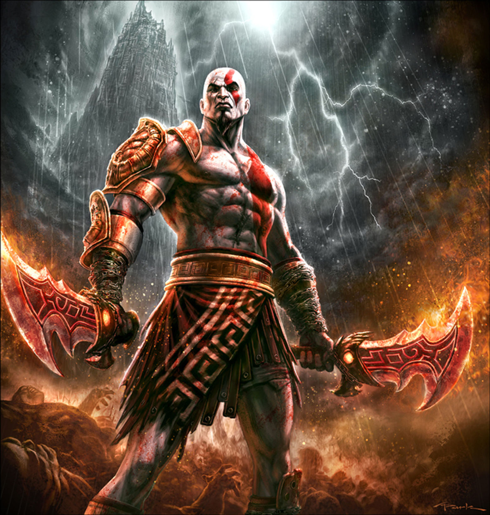 Younger titan Kratos: mythology and its place in it 9