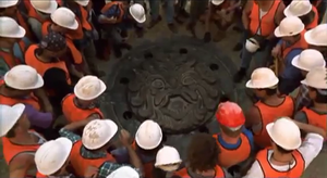 Seal for Ivan Ooze's prison MMPR movie