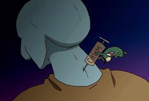 Squidward chum serum