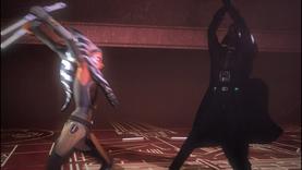Vader raises