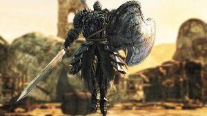 Dark Souls 2 The Pursuer Boss Fight (4k 60fps)