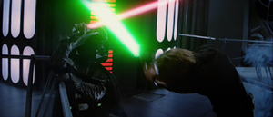Darth Vader weakened