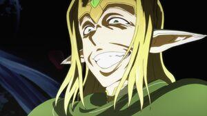 Fairy King Oberon's sadistic grin