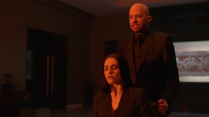 Lex forces Lena to watch the chaos he created