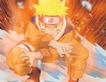 Naruto's initial jinchūriki form.