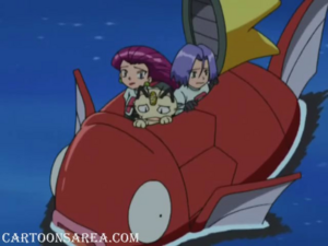 Team Rocket on the Sea (Sharpedo Attack!)
