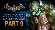Batman Return to Arkham Asylum Walkthrough - Part 9 - The Old Sewer (Killer Croc)