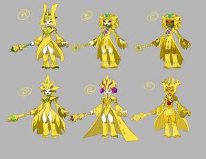 Golden Queen Concepts 4