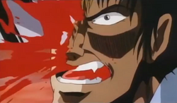 Guro stabbed in the face