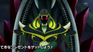 STPC41 Darknest will give Garuouga his power