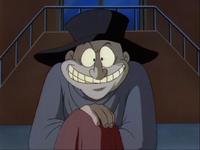 Waylon Jeeper's evil grin