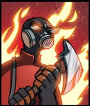 Pyrotriggered
