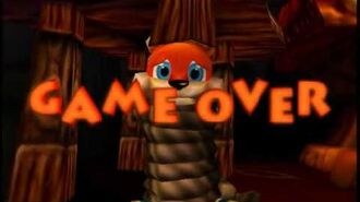 Game Over Conker's Bad Fur Day