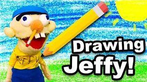 SML Movie Drawing Jeffy!