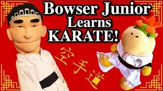 SML Movie Bowser Junior Learns Karate!