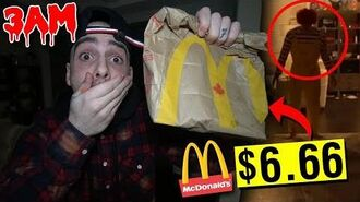 DONT SPEND $6.66 AT MCDONALDS AT 3AM!! *RONALD MCDONALD CAME TO MY HOUSE*