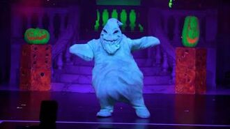 Full Oogie Boogie's Freaky Funhouse Show in Villains Unleashed event at Walt Disney World