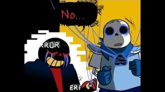 Error!Sans vs UnderSwap -Undertale AU Comic Fandub-