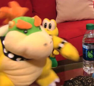 Junior in Bowser's body