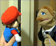 Mario and Does Bad Things Guy