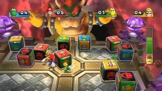 Mario Party 9 - Boss Battle - Bowser's Block Battle