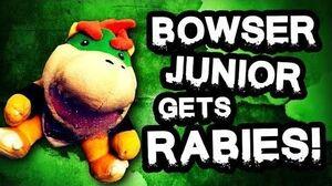 Bowser Junior puppet