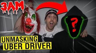 (GONE WRONG) UNMASKING CRAZY UBER DRIVER AT 3AM CHALLENGE!! *DO NOT RIDE UBER AT 3AM!!*