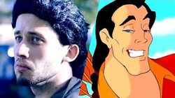 Gaston (Disney's Beauty and the Beast) Jonathan Young ROCK COVER