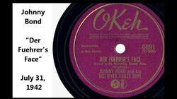 "Johnny Bond ""Der Fuehrer's Face"" Okeh 6691 World War II song mocking Hitler (Art Wenzel accordion)"