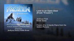 """Love Is an Open Door (From """"Frozen"""")"""